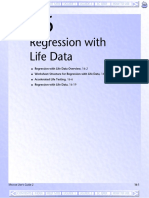 Regression with Life data