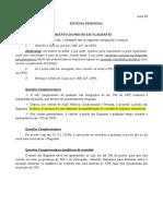 Anotações - Sistema Prisional (2017)
