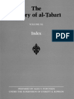 Tabari Volume 40 Index