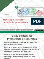 Generacion y Captacion Del Valor Para El Cliente S-1