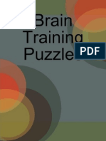 Brain Training Puzzles by Dan Moore