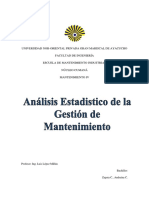 125524407 Analisis Estadistico de La Gestion de Mantenimiento