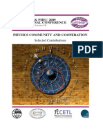 Physics Community and Cooperation