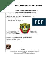 Escuela de Educación Superior Técnico Profesional Pnp
