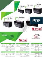 Fichas Tecnicas Netion Baterias Va