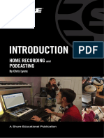 Introduction to Home Recording - Shure