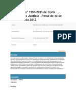 Sentencia Nº 1358 GUatemala