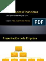 Presentacion de Matemáticas Financieras