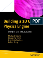 Michael Tanaya, Huaming Chen, Jebediah Pavleas, Kelvin Sung (Auth.)-Building a 2D Game Physics Engine_ Using HTML5 and JavaScript-Apress (2017)