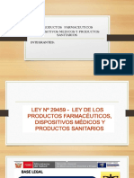 Productos Farmaceuticos Dispositivos Medicos y Productos Sanitarios