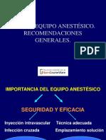 Dipos de Anestesics Locales