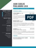 Juan Carlos Puglianini Loja - CV
