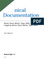 Manual Dosimetro 4442_4443