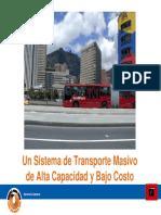 Transmilenio Bogotá