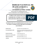 Informe Practicas Jose Luis Huamani Ramos