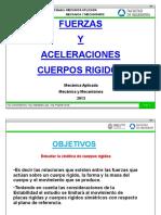 Mr - Cuerpo Rigido - Fuerzas y Aceleraciones - 2013
