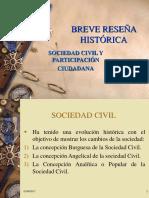 Historia Sociedad Civil y Participacion Ciudadana