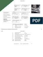 Fórmulas y Definiciones de Torno