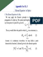 Appendix-I C3 the Eikonal Equation