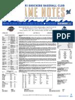 9.2.17 at MOB Game Notes