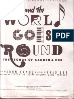 And the World Goes Round Vocal Book