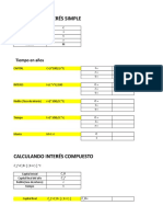 Calculo de Interes_simple & Compuesto