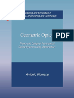 Geometric Optics. Theory and Design of Astronomical Optical 0-8176-4872-5 - Copy