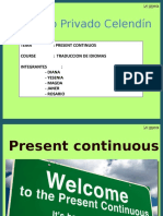 Present Continus