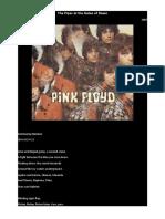 Pink Floyd Lyrics