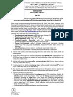 Surat Edaran PR1 Tentang Ketentuan Prestasi Untuk SKPI UNP