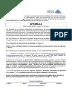Apostilla Francesa 2012 Esp