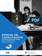 Manual Autoridad de Mesa 2017