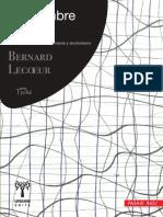 El Hombre Ebrio (ADELANTO) Bernard Lecoueur