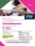 Sección 4 Preparación Del Acto Electoral