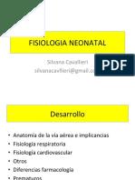 Fisiologia Neonatal 2014