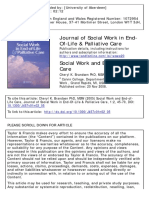 Journal of Social Work in End- Of-Life & Palliative Care   Brand Sen 2005