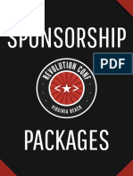 Revolution Conf 2016 - Sponsor Package