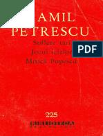 Camil Petrescu - Teatru I