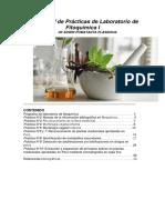 Manual de Prácticas de Laboratorio de Fitoquímica I