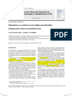 Relación entre enfermedad periodontal y el habito de fumar