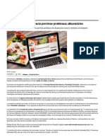 Comunicación de La Ciencia Previene Problemas Alimenticios