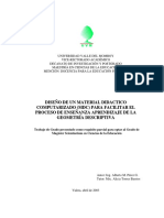Diseño de Un Material Didactico Computarizado