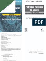 Livro - Políticas Públicas de Saúde