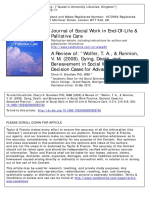 Journal of Social Work in End-Of-Life & Palliative Care   Brand Sen 2009
