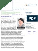 ConJur - As Possibilidades de Arbitragem Em Contratos Administrativos