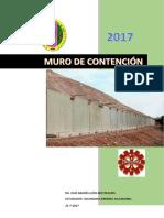 CRITERIOS TECNICOS PARA DISEÑAR UN MURO DE CONTENCION
