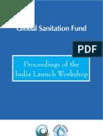 GlobalSanitationFund_IndiaLaunchWorkshop_IndiaWashForum_2009