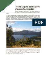 La Historia de La Laguna Del Lago de Sangre