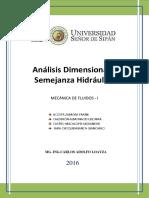 Analisi Dimensional