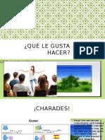 spanish 1 como eres gustar